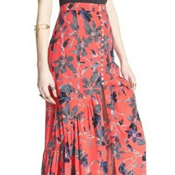 021c1d2b8 Free People Dresses & Skirts - Free People Anthropologie Skirt Size 0  Paisley
